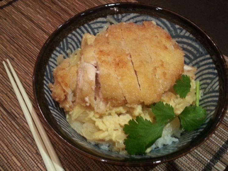 Chicken Cutlet Donburi