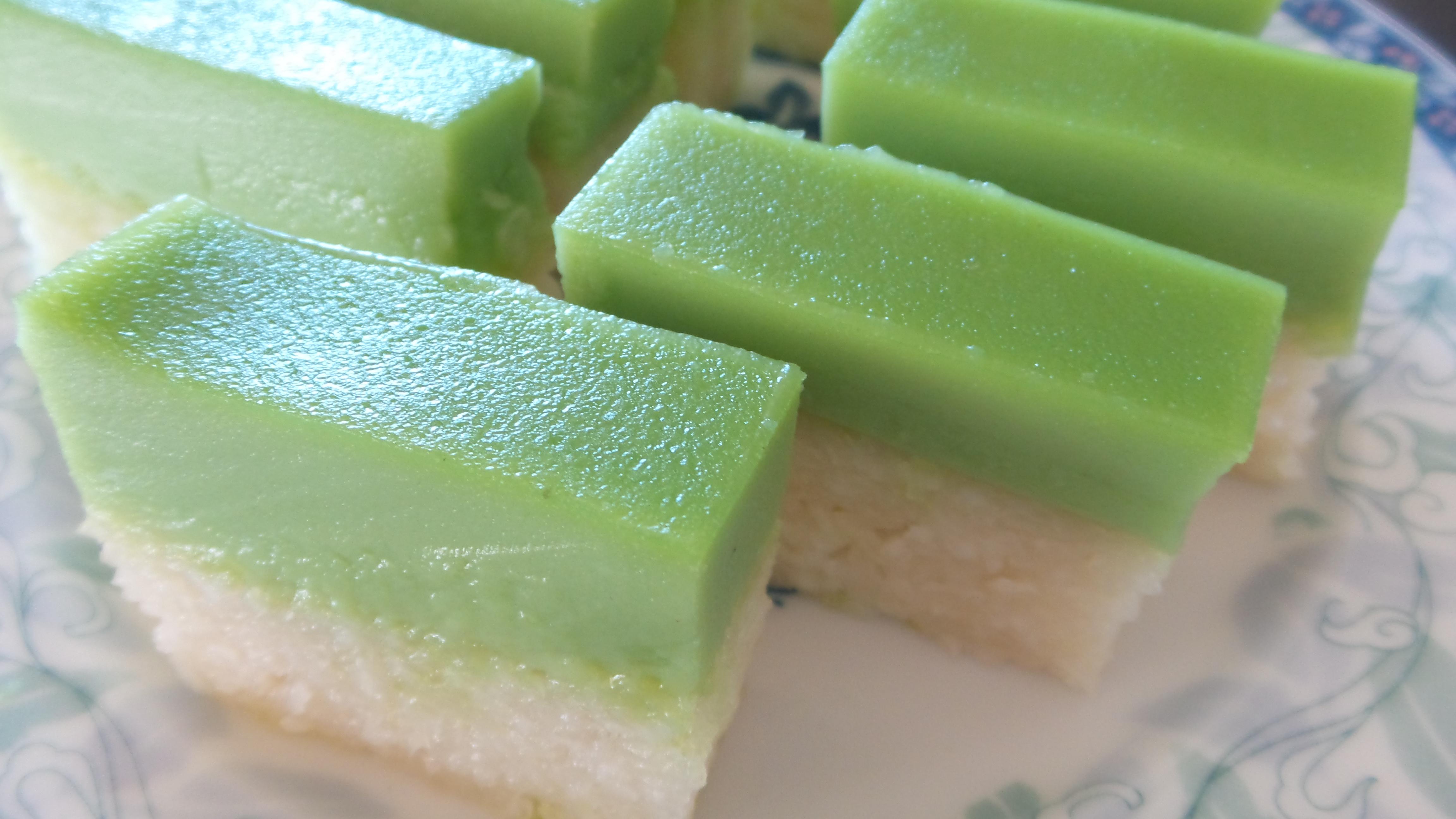 Easy Pandan Cake Recipe